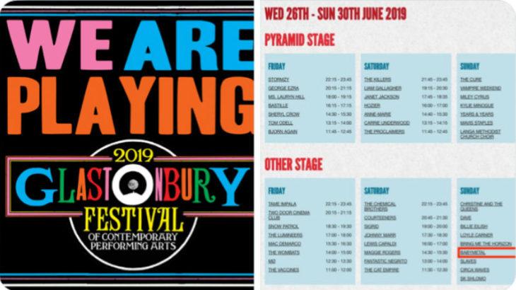 BABYMETAL 世界最大級の音楽フェスティバル グラストンベリー出演!!
